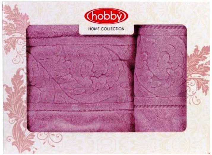 Набор полотенец Hobby Home Collection Sultan, цвет: розовый, 2 шт1501001235Набор Hobby Home Collection Sultan состоит из двух махровых полотенец, выполненных из натурального 100% хлопка. Изделия мягкие, отлично впитывают влагу, быстро сохнут, сохраняют яркость цвета и не теряют форму даже после многократных стирок. Полотенца Hobby Home Collection Sultan очень практичны и неприхотливы в уходе. Они легко впишутся в любой интерьер благодаря своей нежной цветовой гамме. Размер полотенец: 50 х 90 см; 70 х 140 см.