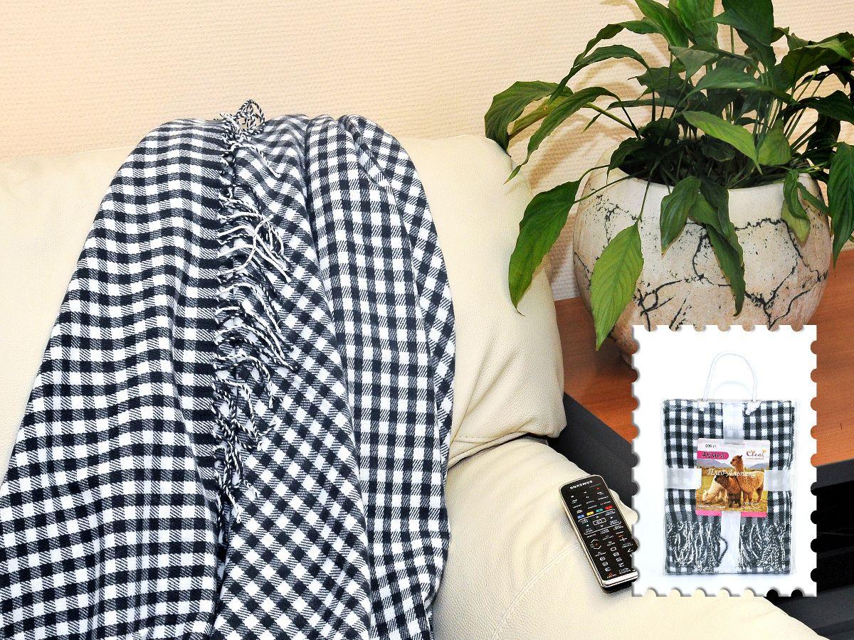 Плед Cleo Каминный, цвет: черный, 130 х 150 смU210DFКоллекция пледов Cleo – стильный дизайн и согревающая нега прикосновения! Пледы сделаны из инновационного материала - полиакрила. Полиакрил - это уникальный инновационный материал, мягкий и легкий, по внешнему виду и на ощупь напоминает шерсть.