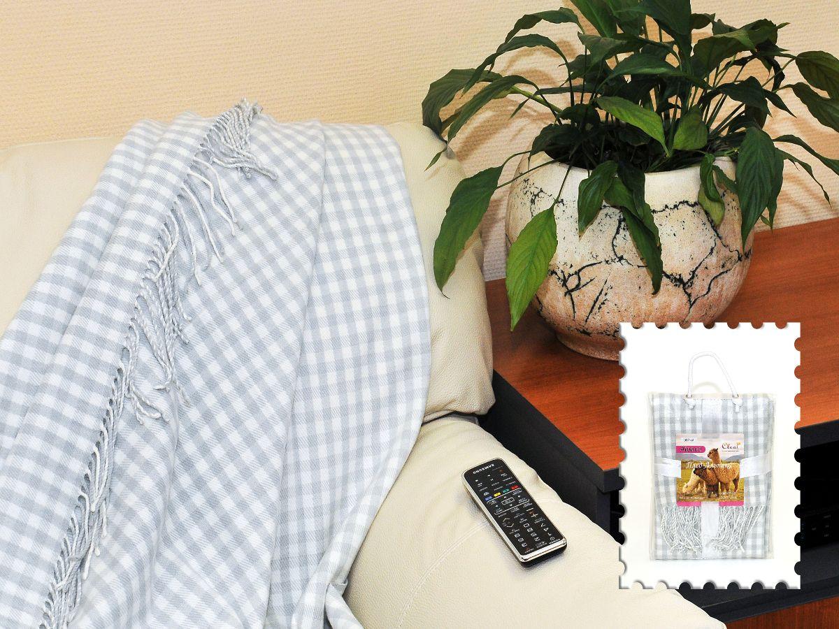 Плед Cleo Каминный, цвет: серый, 140 х 180 см130/005-alКоллекция пледов Cleo – стильный дизайн и согревающая нега прикосновения! Пледы сделаны из инновационного материала - полиакрила. Полиакрил - это уникальный инновационный материал, мягкий и легкий, по внешнему виду и на ощупь напоминает шерсть.