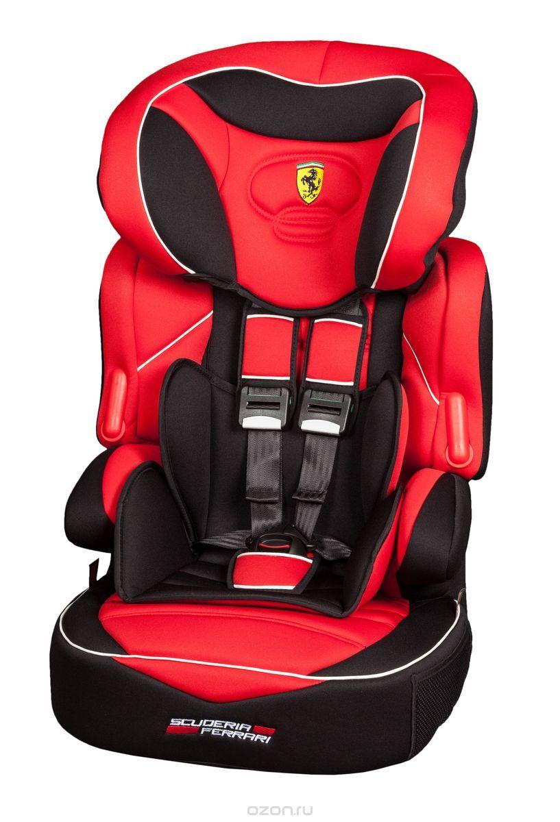 Nania Автокресло Beline SP Ferrari Corsa от 9 до 36 кг589756Автокресло Nania Beline SP относится к группе 1/2/3, от 8 месяцев до 12 лет (9-36 кг). Соответствует стандартам ECE R44/04. Серия FERRARI - фирменные цвета итальянского спорткара в сочетании с автокреслом серии LUXE. Автокресло гарантирует европейское качество и обеспечивает безопасность пассажира. Beline SP - это два кресла в одном. Оно охватывает все возрастные группы в возрасте от примерно 8 месяцев до 12 лет (когда ребенка в автомобиле уже можно перевозить без специального удерживающего устройства) благодаря регулируемому по высоте подголовнику. Когда ребенок подрастет, спинку автокресла можно отстегнуть и использовать только бустер. Автокресло Beline SP было разработано согласно самым жестким требованиям безопасности, а также учитывая ортопедические факторы: мягкая, приятная на ощупь обивка и анатомическая форма. Ваш ребенок будет чувствовать себя комфортно даже в дальних поездках. Широкий мягкий подголовник, спинка и подлокотники обеспечат...