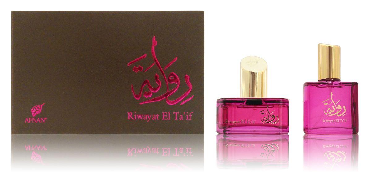 Afnan Riwayat El TaIf Парфюмерная вода, 50 + 20 мл.214424Семейство ароматов: цветочные Верхние ноты: цветочные, роза Ноты «сердца»: сладкие, кремовые Базовые ноты: пудровые, роза