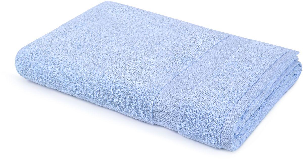 Полотенце Aquarelle Настроение, цвет: светло-васильковый, 50 х 90 см. 70245910503Махровое полотенце Aquarelle Настроение неотъемлемая часть повседневного быта, они создают дополнительные акценты в ванной комнате. Продукция производится из высококачественных материалов.Ткань: 100% хлопок.Размер: 50 х 90 см.