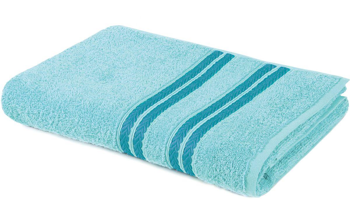 Полотенце Aquarelle Адриатика, цвет: аква, 50 х 90 см531-105Махровое полотенце Aquarelle Адриатика - неотъемлемая часть повседневного быта, оно создает дополнительные акценты в ванной комнате. Продукция производится из высококачественных материалов, которая за счет применяемых технологий, расцветок и оформления вызывает ощущения удовольствия, счастья, прилива сил, энергии.Ткань: 100% хлопок.Размер: 50 х 90 см.