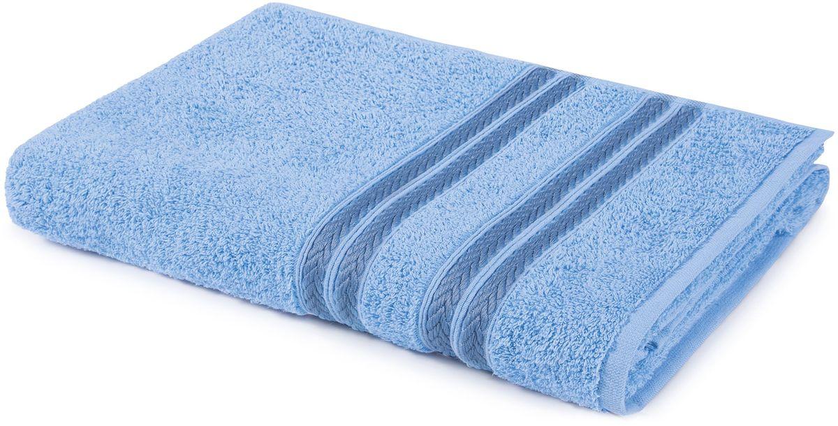 Полотенце Aquarelle Адриатика, цвет: светло-васильковый, 70 х 140 см702563