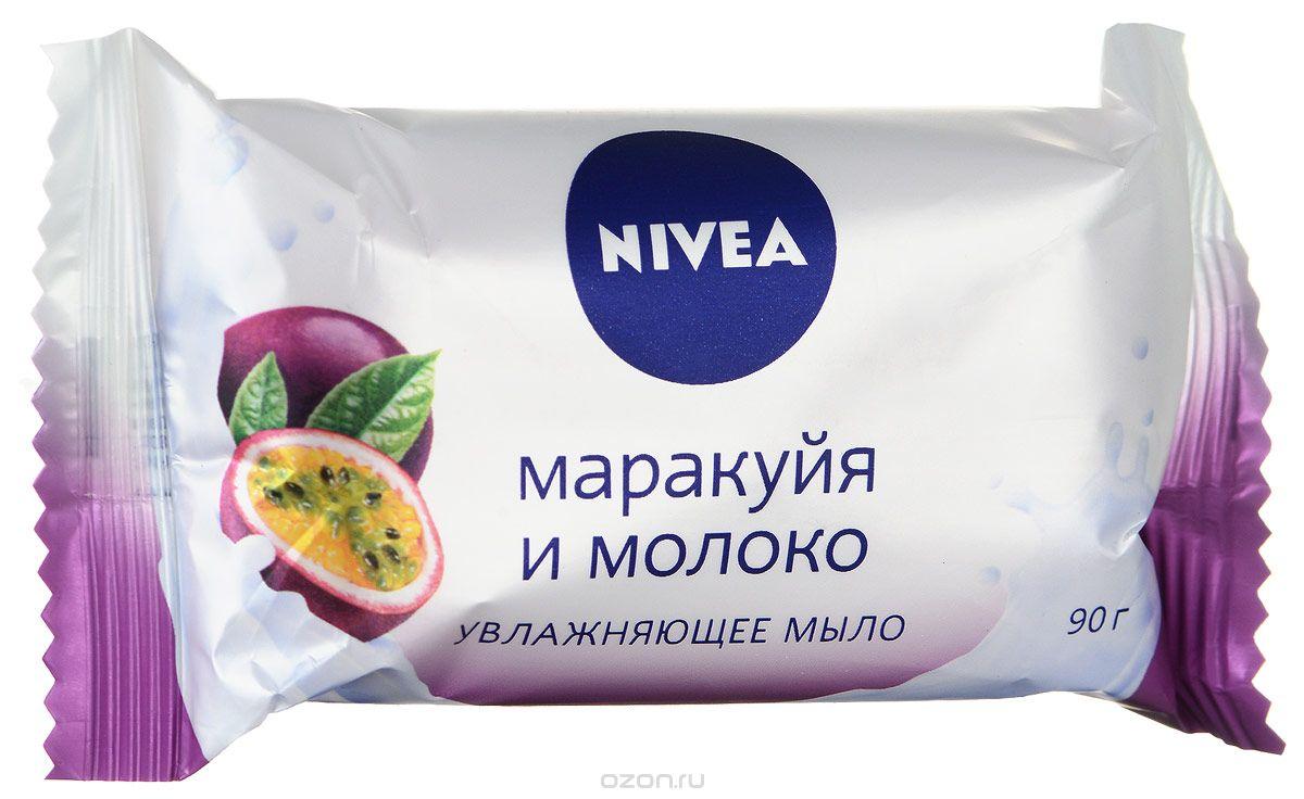 NIVEA Мыло-уход Маракуйя и молоко 90 гMP59.4DМыло Маракуйя и молоко от NIVEA увлажняет и заботится о Вашей коже. Сочный аромат тропических фруктов надолго подарит положительные эмоции. Товар сертифицирован.