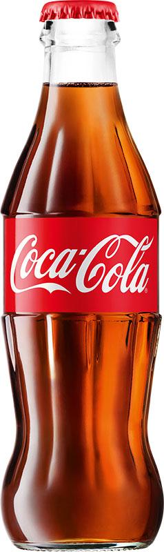 Coca-Cola напиток сильногазированный, 0,25 л0120710Кока-Кола - самый популярный напиток за всю историю компании Coca-Cola, был придуман аптекарем Доктором Джоном Пэмбертоном в Атланте, штат Джорджия 8 мая 1886 года. Никто не помнит, каким образом сироп доктора Пэмбертона смешался с газированной водой, но новый прохладительный напиток был сразу признан одновременно вкусным и освежающим. Формула Coca-Cola - один из самых тщательно оберегаемых коммерческих секретов всех времен и народов.