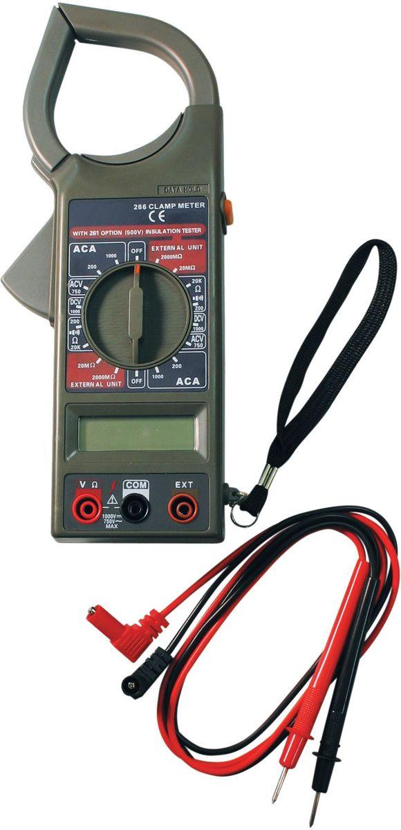 Клемметр ТЕК DT 266CA-35053,5 разрядный ж/к дисплей (1999 чисел с автоматическим определением полярности и единиц измерения);измерение тока;проверка изоляции;измерение напряжения;измерение сопротивления.Постоянное напряжение - 1000 В DCV погрешность ±0,8%Переменное напряжение - 750 В ACV погрешность ±1,2%Сопротивление - 200М-2000 кОм погрешность ±1.0%