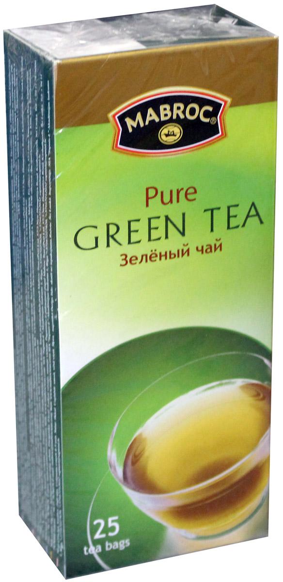 Mabroc Премиум классик чай зеленый в пакетиках, 25 шт0120710Зеленый чай Mabroc из коллекции Premium Classic в пакетиках для разовой заварки. Чай Маброк обладает насыщенным вкусом и глубоким ароматом.
