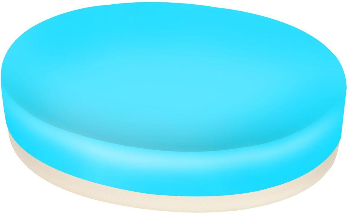 Мыльница Proffi Home, цвет: голубой. PH6473PH6473Мыльница - аксессуар для хранения брускового мыла обладает рядом преимуществ. Дно, выполненное из каучука, создает антискользящий эффект - теперь не придется гоняться за мылом в самых неподходящий момент. Керамика, из которой отлито основание мыльницы выгодно отличается от других материалов в первую очередь натуральностью и благородным внешним видом. Этот материал устойчив к перепадам температур, повышенной влажности и бытовым химическим средствам. Благодаря лаконичной форме такой аксессуар отлично впишется в любой интерьер ванной комнаты и станет ее украшением. Материал: керамика, каучук. Страна-изготовитель: Китай. Размеры изделия: 12*8.7*2.5см.