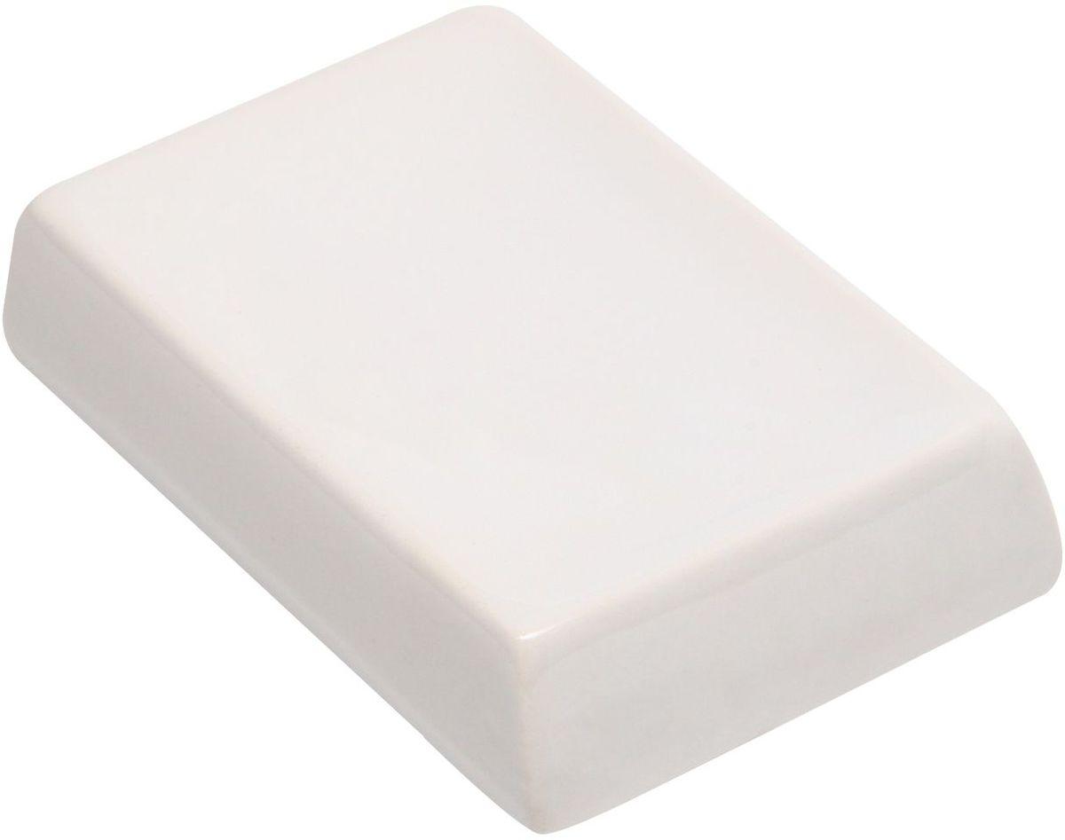 Мыльница Proffi Home Кубикс. PH6501PH6501Мыльница - аксессуар для хранения брускового мыла, сделанное из керамики. Керамика отличается от других материалов в первую очередь натуральностью и благородным внешним видом. Этот материал устойчив к перепадам температур, повышенной влажности и бытовым химическим средствам. Благодаря стильному и современному дизайну такой аксессуар отлично впишется в любой интерьер ванной комнаты и станет ее украшением. Материал: керамика. Цвет: белый. Размеры: 12.5X8.5X3 см
