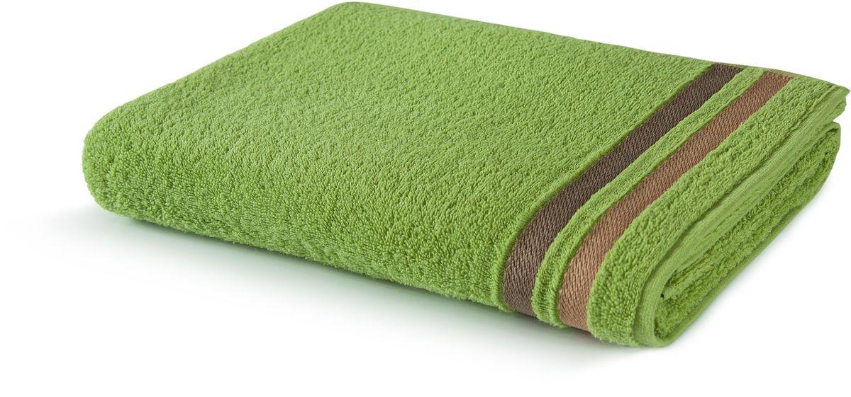 Полотенце Aquarelle Исландия, цвет: травяной, 50 х 90 см702465
