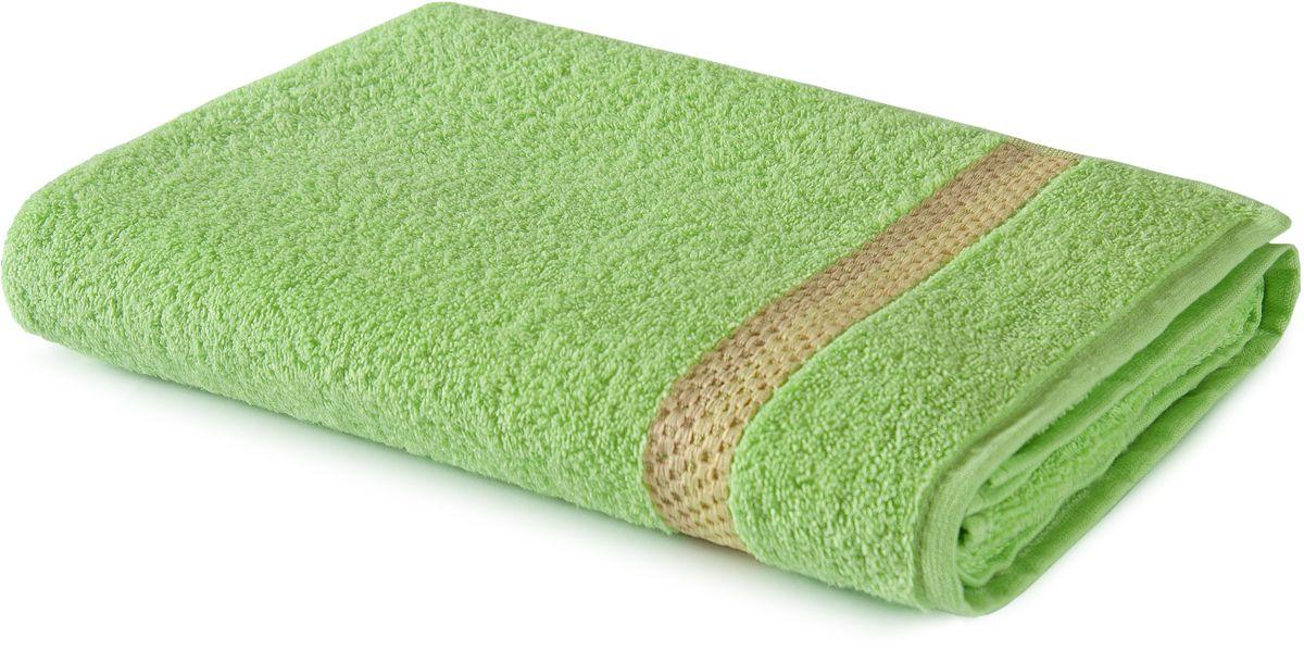 Полотенце Aquarelle Глициния, цвет: светло-зеленый, 70 х 140 см702553