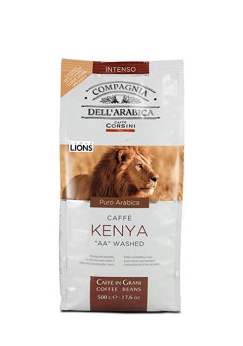 Compagnia DellArabica Kenya AA Washed кофе в зернах, 500 г8001684011087Compagnia DellArabica Kenya AA Washed - элитный высокогорный сорт 100% арабики, считающийся поистине взрослым кофе. Это напиток с ярко выраженной кислинкой, проникающей терпкостью, интенсивным привкусом и освежающим бодрящим действием. Идеально подходит для приготовления эспрессо и напитков на его основе, любыми традиционными способами!