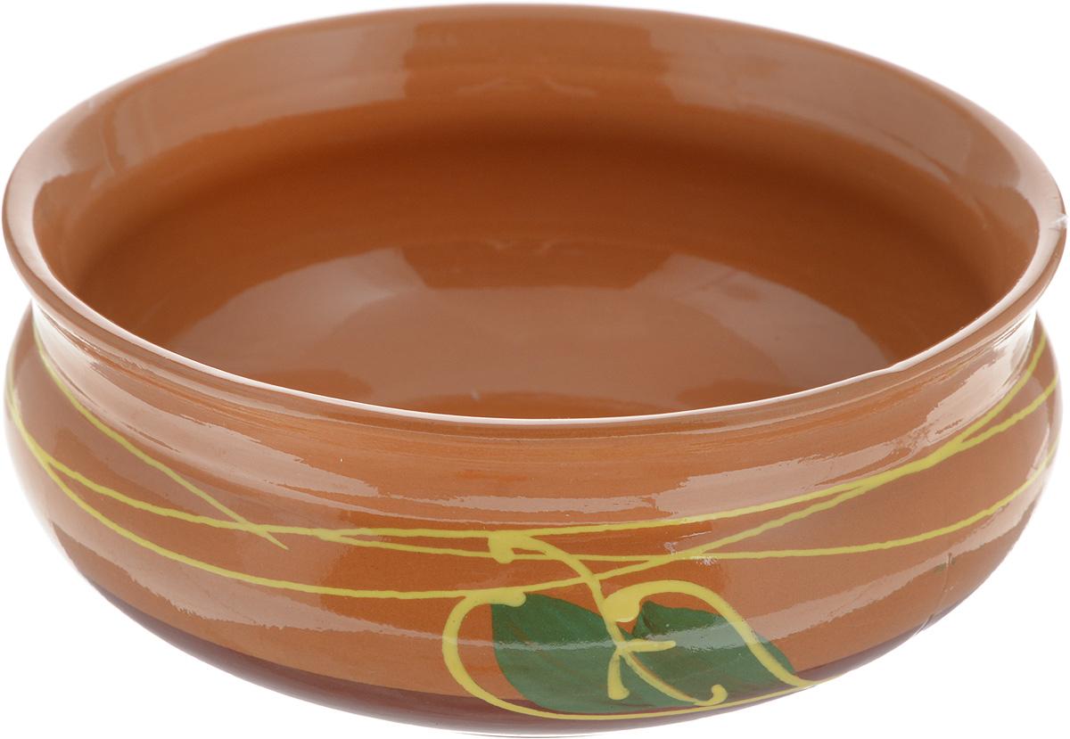 Тарелка глубокая Борисовская керамика Скифская, 800 мл. ОБЧ14457934115510Глубокая тарелка Борисовская керамика Скифская выполнена из керамики. Внешние и внутренние стенки покрыты цветной глазурью. Изделие сочетает в себе изысканный дизайн с максимальной функциональностью. Она прекрасно впишется в интерьер вашей кухни и станет достойным дополнением к кухонному инвентарю. Такая тарелка подчеркнет прекрасный вкус хозяйки и станет отличным подарком. Можно использовать в духовке и микроволновой печи.