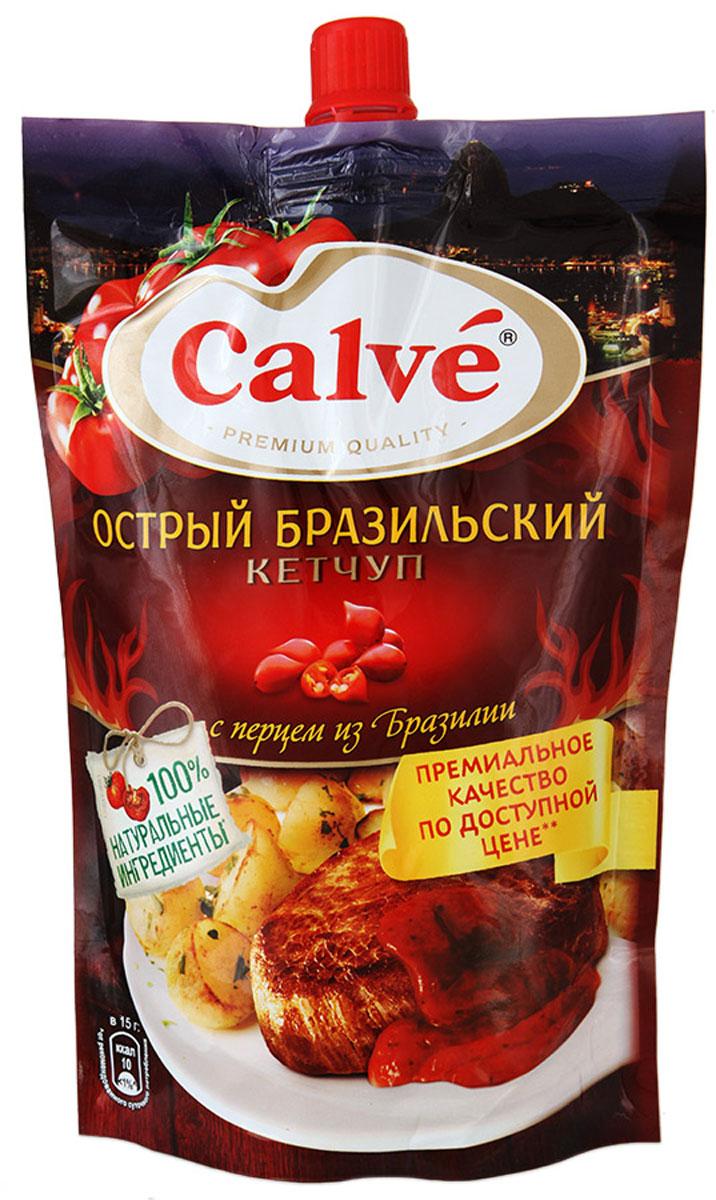 Calve Кетчуп Острый Бразильский, 350 г0120710Праздничная Бразилия - страна ярких кулинарных впечатлений! Вдохновленный бразильским рецептом, Calve представляет очень вкусный острый томатный кетчуп, с отборными натуральными ингредиентами - специально привезенным из Бразилии перцем и ароматными специями. Вкус Бразилии на вашем столе!Уважаемые клиенты! Обращаем ваше внимание, что полный перечень состава продукта представлен на дополнительном изображении.