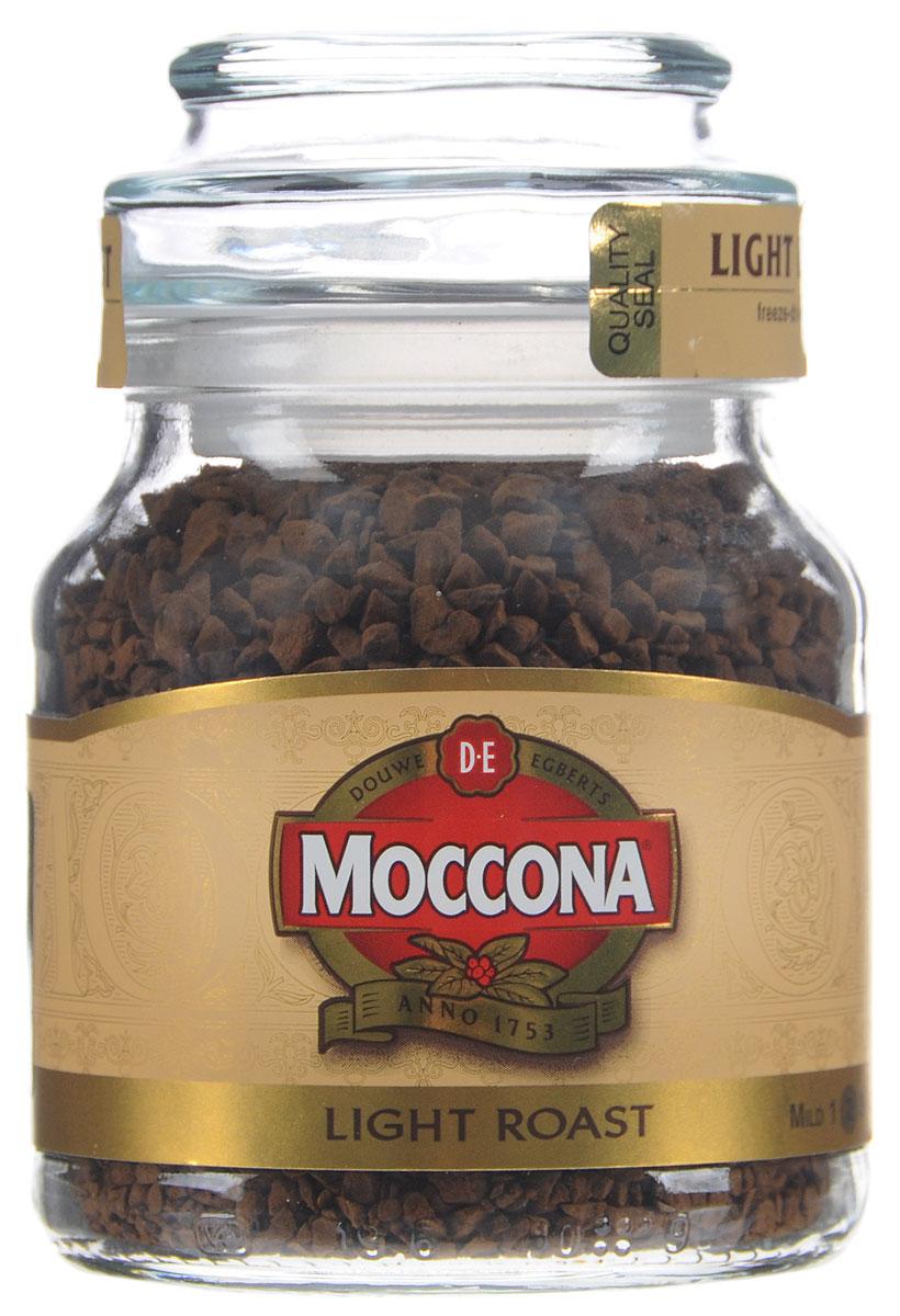 Moccona Light Roast кофе растворимый, 47,5 г4607031792476Растворимый кофе Moccona Light Roast - натуральный сублимированный кофе. Насладитесь сбалансированным вкусом и богатым ароматом кофе Moccona, это ежедневный подарок себе.
