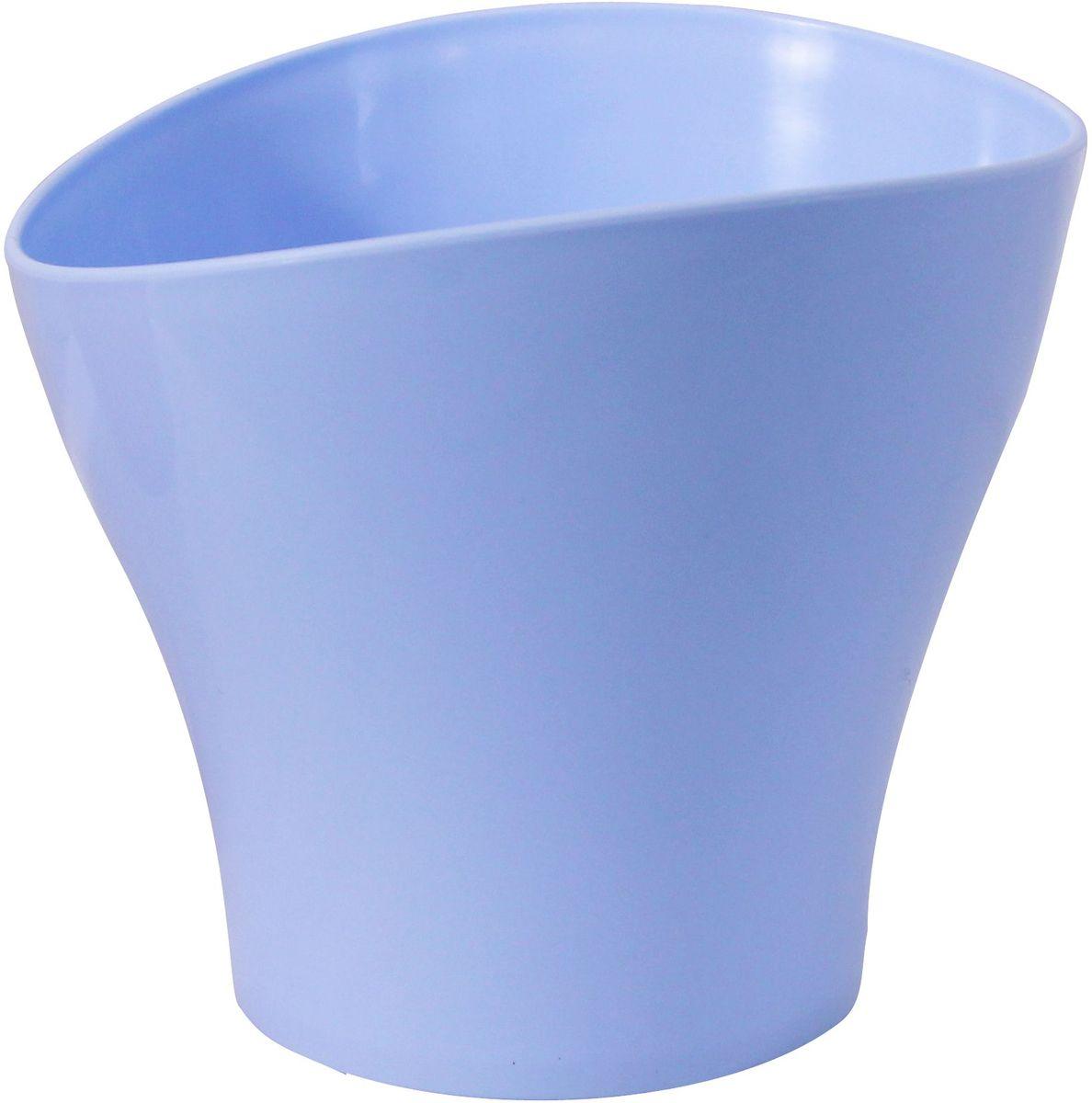 Кашпо Idea Волна, цвет: голубой, 800 мл531-322Кашпо Idea Волна изготовлено из прочного полипропилена (пластика) и предназначено для выращивания растений, цветов и трав в домашних условиях. Такое кашпо порадует вас функциональностью, а благодаря лаконичному дизайну впишется в любой интерьер помещения. Объем кашпо: 0,8 л.