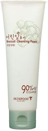 Skinfood Brocolli Пенка для умывания с экстрактом брокколи, 120 млУТ-00000279Пенка с экстрактом брокколи (74%) очищает кожу от загрязнений, пыли и излишков себума, эффективно успокаивает чувствительную и раздраженную кожу, тонизирует уставшую, повышает барьерные функции кожи, защищает от воздействия UF-лучей, оказывает антибактериальное действие и выводит токсины. Экстракт брокколи оздоравливает и восстанавливает кожу, предотвращает ощущения сухости и стянутости.