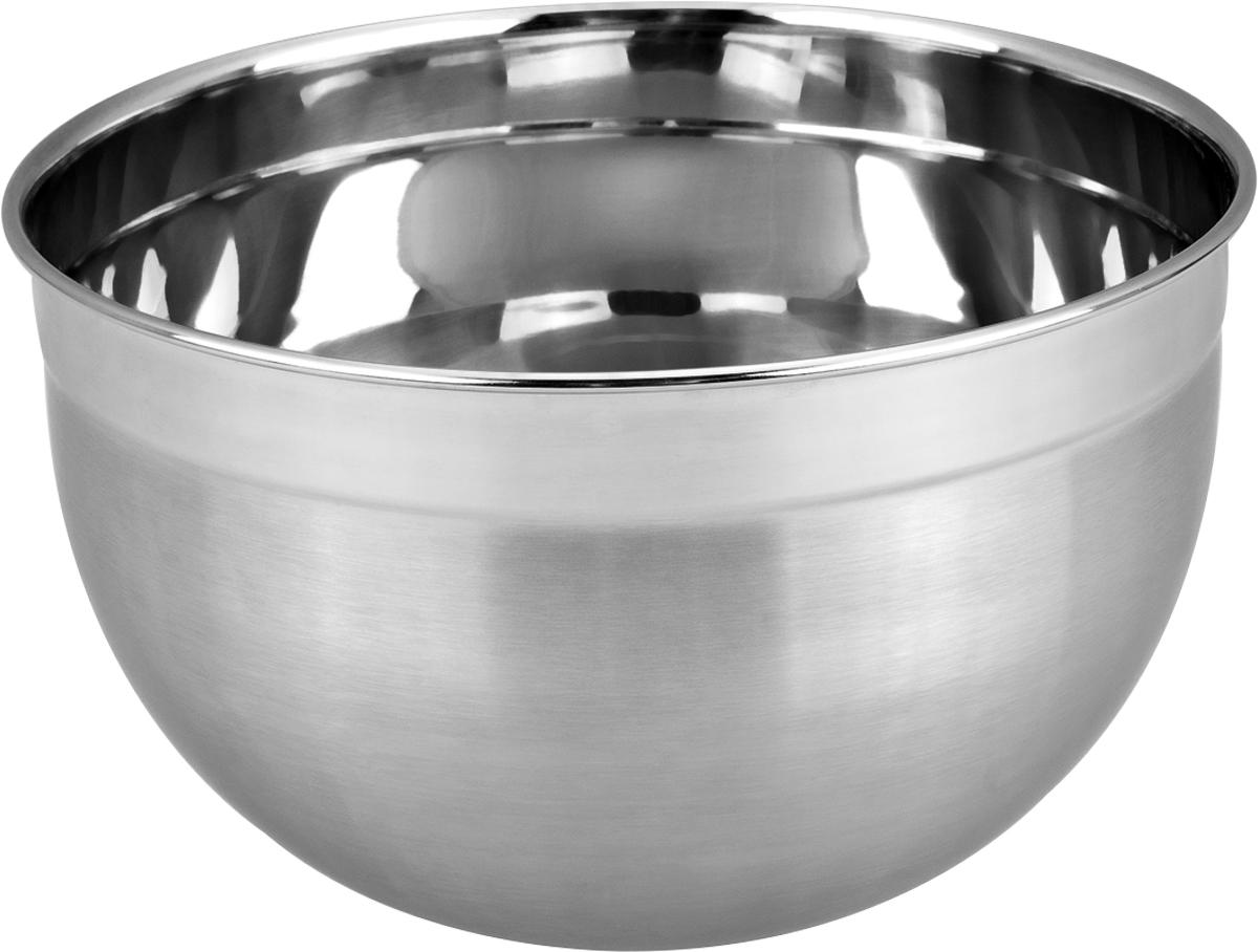 Салатник Marta, 3 л. MT-2946MT-2946Стильный салатник выполнен из высококачественной пищевой нержавеющей стали. Идеально подойдет для приготовления салатов, хранения сыпучих и жидких продуктов, смешивания горячих или холодных жидкостей. Высококачественная пищевая нержавеющая сталь не имеет запаха и сохраняет вкус и аромат продуктов и жидкостей натуральными. Благодаря оптимальной форме в салатнике очень удобно перемешивать Стильный дизайн такого салатника прекрасно сочетается с эстетикой любой кухни, незаметно подчеркивая опыт и профессионализм ее хозяйки. Можно мыть в посудомоечной машине.