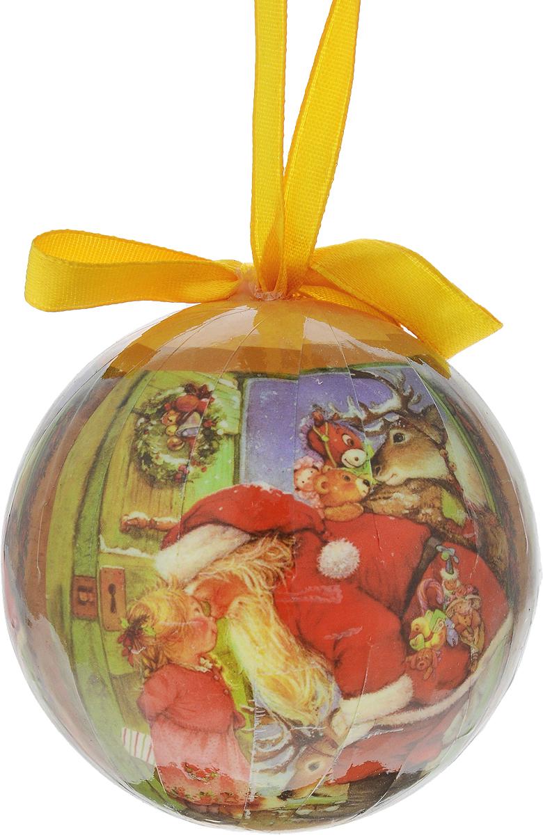 Новогоднее подвесное украшение Erich Krause Рождественские мечты, диаметр 7,5 смNLED-444-7W-BKУкрашенийErich Krause Рождественские мечты прекрасно подойдет для праздничного декора новогодней ели. Изделие выполнено из пенопласта.Для удобного размещения на елке для каждого украшения предусмотрено петелька. Елочная игрушка - символ Нового года. Она несет в себе волшебство и красоту праздника. Создайте в своем доме атмосферу веселья и радости, украшая новогоднюю елку нарядными игрушками, которые будут из года в год накапливать теплоту воспоминаний. Откройте для себя удивительный мир сказок и грез. Почувствуйте волшебные минуты ожидания праздника, создайте новогоднее настроение вашим дорогим и близким.Диаметр: 7,5 см.Длина: 7,5 см.