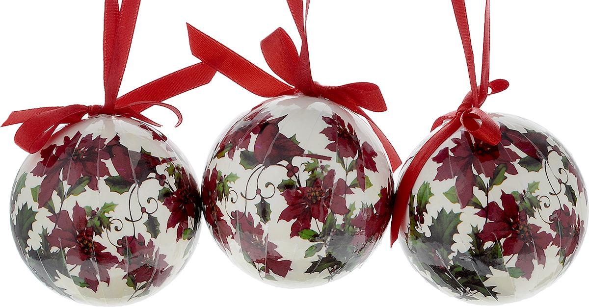 Набор новогодних подвесных украшений Erich Krause Птичьи напевы, диаметр 7,5 см, 3 шт4041485332701Набор подвесных украшений Erich Krause Птичьи напевы прекрасно подойдет для праздничного декора новогодней ели. Набор состоит из 3 пластиковых украшений. Для удобного размещения на елке для каждого украшения предусмотрено петелька. Елочная игрушка - символ Нового года. Она несет в себе волшебство и красоту праздника. Создайте в своем доме атмосферу веселья и радости, украшая новогоднюю елку нарядными игрушками, которые будут из года в год накапливать теплоту воспоминаний. Откройте для себя удивительный мир сказок и грез. Почувствуйте волшебные минуты ожидания праздника, создайте новогоднее настроение вашим дорогим и близким. Диаметр: 7,5 см. Длина: 7,5 см.