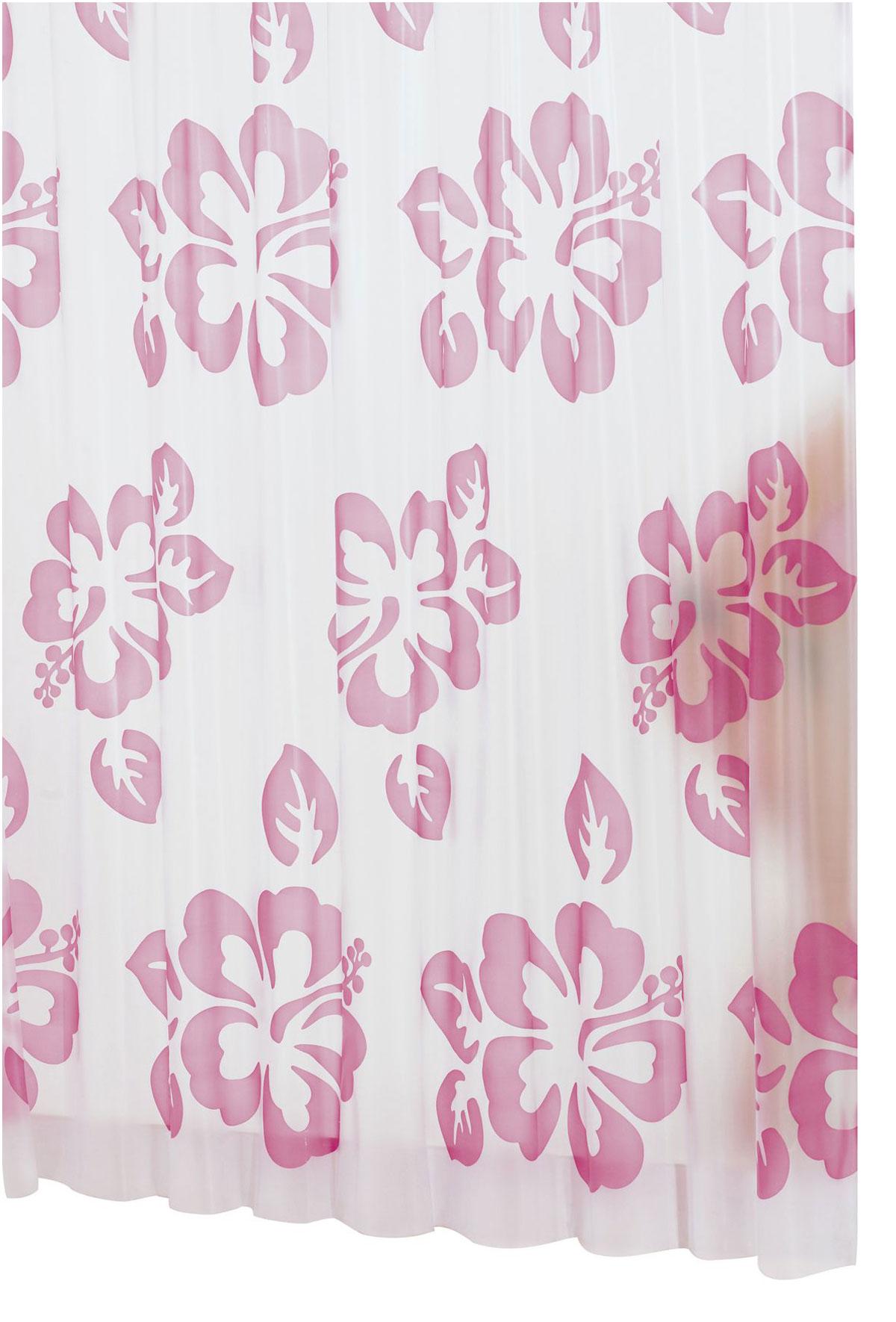Штора для ванной комнаты Ridder Flowerpower, цвет: розовый, 180 х 200 см32352Высококачественная немецкая штора для душа создает прекрасное настроение. Продукты из эколена не имеют запаха и считаются экологически чистыми. Ручная стирка. Не гладить.