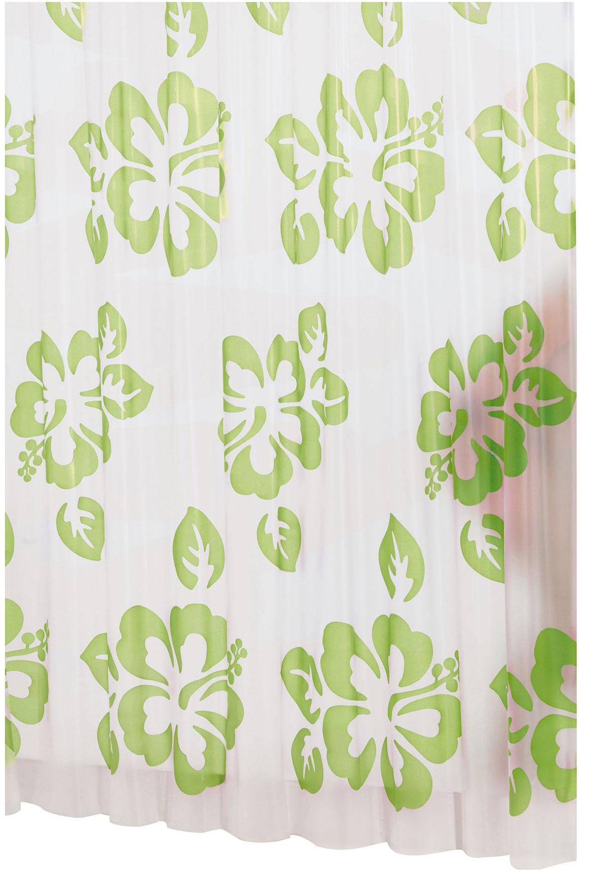 Штора для ванной комнаты Ridder Flowerpower, цвет: зеленый, 180 х 200 см32355Высококачественная немецкая штора для душа создает прекрасное настроение. Продукты из эколена не имеют запаха и считаются экологически чистыми. Ручная стирка. Не гладить.