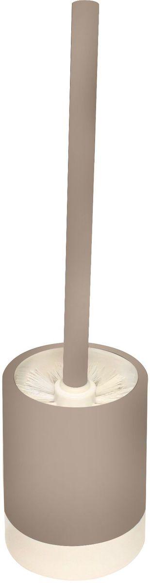 Ершик для унитаза Proffi Home, с подставкой, цвет: бежевый, белый, 2 предмета. PH6470PH6470Ершик для унитаза Proffi Home выполнен из керамики и пластика, он оснащен жестким ворсом. Ершик отлично чистит поверхность, а грязь с него легко смывается водой. Керамическая подставка с каучуковым покрытием создает антискользящий эффект. Форма обеспечивает устойчивость и предотвращает опрокидывания ершика. Керамика выгодно отличается от других материалов в первую очередь натуральностью и благородным внешним видом. Этот материал устойчив к перепадам температур, повышенной влажности и бытовым химическим средствам. Стильный дизайн изделия притягивает взгляд и прекрасно подойдет к любому интерьеру туалетной комнаты. Длина ершика: 35 см. Размер рабочей поверхности ершика: 8 х 8 х 8 см. Диаметр подставки по верхнему краю: 9,2 см. Высота подставки: 13 см.
