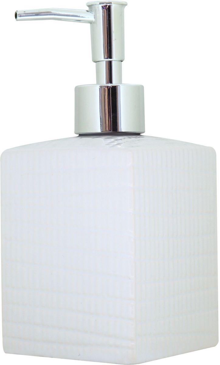 Диспенсер для жидкого мыла Proffi Home Пятый элемент, 400 млPH6480Диспенсер Proffi Home Пятый элемент - незаменимый аксессуар для тех, кто ценит чистоту своей раковины и экономный расход мыла. Вы можете легко переставлять его при необходимости. Этот диспенсер выполнен из керамики с глазурованным покрытием. Керамика выгодно отличается от других материалов в первую очередь натуральностью и благородным внешним видом. Этот материал устойчив к перепадам температур, повышенной влажности и бытовым химическим средствам. Благодаря лаконичному и современному дизайну такой диспенсер станет украшением вашей ванной комнаты.