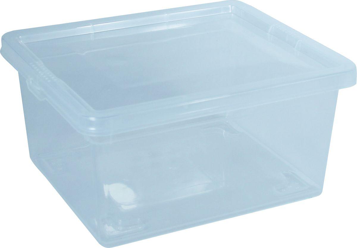 Контейнер для хранения вещей Idea, 2 л. М 2350М 2350Контейнер для хранения Idea выполнен из высококачественного пластика. Изделие оснащено двумя пластиковыми фиксаторами по бокам, придающими дополнительную надежность закрывания крышки. Вместительный контейнер позволит сохранить различные нужные вещи в порядке, а крышка предотвратит случайное открывание, защитит содержимое от пыли и грязи. Объем: 2 л.