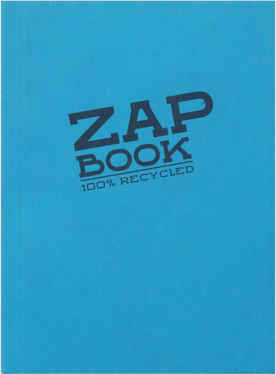 Блокнот Clairefontaine Zap Book, цвет: голубой, формат A6, 160 листов72523WDОригинальный блокнот Clairefontaine идеально подойдет для памятных записей, любимых стихов, рисунков и многого другого. Плотная обложкапредохраняет листы от порчи изамятия. Такой блокнот станет забавным и практичным подарком - он не затеряется среди бумаг, и долгое время будет вызывать улыбку окружающих.