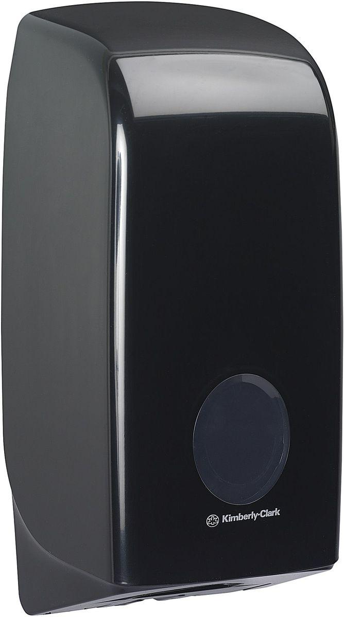 Диспенсер Aquarius, для сложенной туалетной бумаги, цвет: черный. 7172UP210DFАссортимент диспенсеров для сложенной туалетной бумаги из скоординированной линейки диспенсеров для туалетных комнат. Диспенсеры мотивируют сотрудников соблюдать гигиенические нормы, повышают уровень комфорта, демонстрируют заботу о персонале и помогают сократить расходы.Идеальное решение, обеспечивающее подачу по одному листу без касания диспенсера, снижение риска перекрестного загрязнения и предотвращение распространения бактерий. Наше уникальное запатентованное устройство защиты от переполнения облегчает процесс заправки, помогает предотвратить заминание продукта и снижает объем отходовФормат поставки: диспенсер современного дизайна, обтекаемой формы, обеспечивающий быструю заправку; черное глянцевое, легко очищаемое покрытие; отсутствие мест скопления пыли и грязи; смотровое окно для контроля за расходными материалами; возможность выбора цветовых вставок в соответствие с интерьером конкретных туалетных комнат. Замена диспенсера 6975. Совместим с туалетной бумагой: 8035, 8036, 8408, 8409, 8508, 8109.