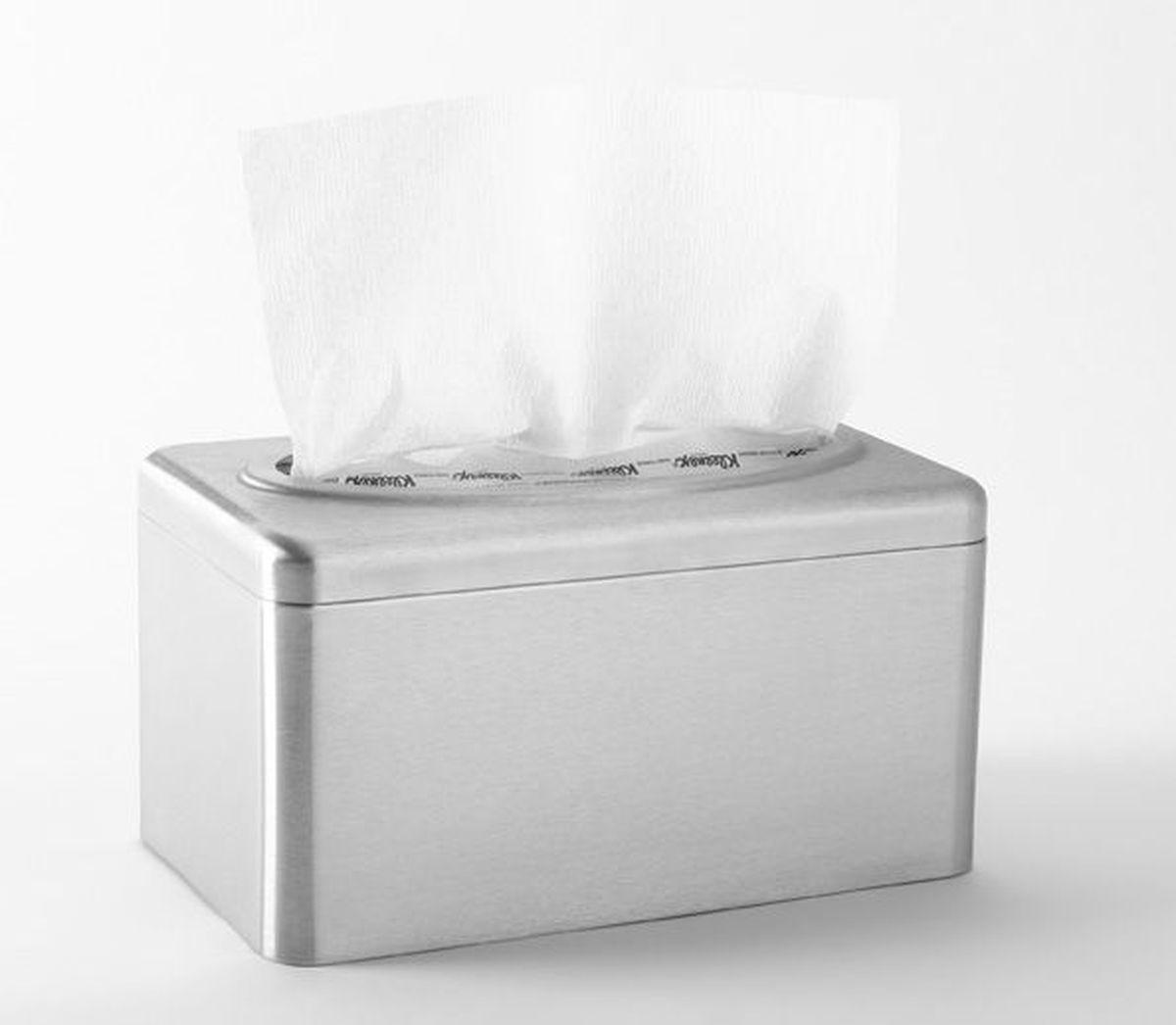 Диспенсер для бумажных полотенец Kimberly-Clark Professional. Рор-Up. 99249924Ассортимент диспенсеров для сложенных бумажных полотенец для рук с выдачей по одному листу из скоординированной линейки диспенсеров для туалетных комнат. Диспенсеры мотивируют сотрудников соблюдать гигиенические нормы, повышают уровень комфорта, демонстрируют заботу о персонале и помогают сократить расходы. Идеальное решение, обеспечивающее подачу по одному листу полотенец для рук KLEENEX® из коробки Pop-Up, добавляет элемент роскоши в интерьер туалетных комнат, может использоваться в условиях ограниченного пространства в туалетных комнатах офисов и гостиниц с высокими требованиями к интерьеру; обеспечивает экономию средств и отличается простотой обслуживания. Формат поставки: элегантный диспенсер; надежное крепление, возможность аккуратной заправки; корпус обетакемой формы с отделкой из нержавеющей стали. В упаковке 2 штуки. Совместим с салфетками KLEENEX® 1126.