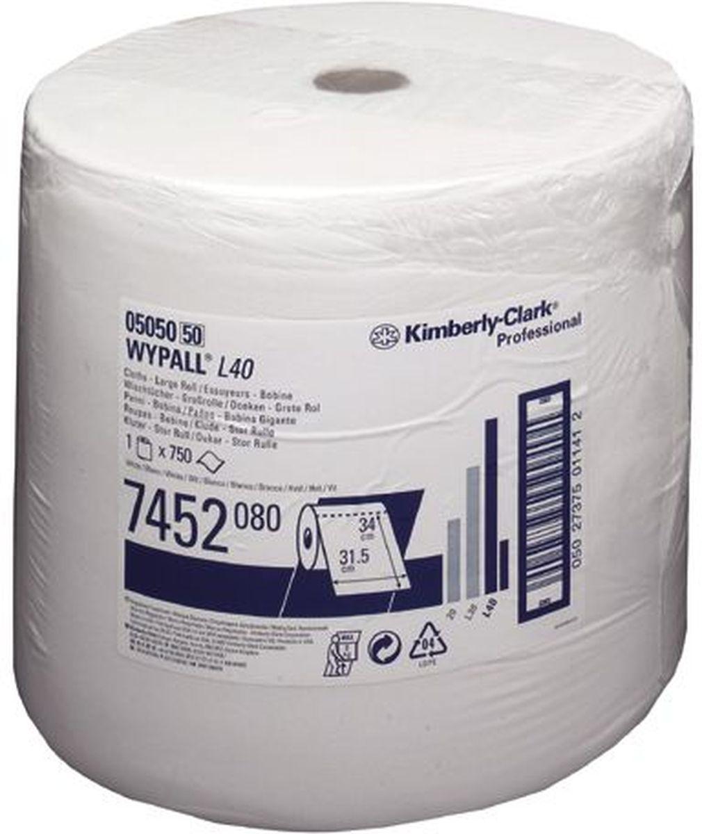 Салфетка протирочная Wypall L40, 750 листов. 74527452Протирочные салфетки с ограниченным сроком службы, произведенные при помощи технологии AIRFLEX®, отличаются прочностью и отличной впитывающей способностью, что позволяет быстро и экономно выполнять очистку, расходуя меньше салфеток и сокращая затраты. Идеальное решение для операций ежедневной очистки на производственных участках, очистки технологических линий, быстрого устранения крупных разливов масла, смазки, протирки рук и лица пациентов в медицинских учреждениях; помогает предотвратить распространение бактерий. Формат поставки: большой рулон с перфорацией для зон с высокой проходимостью. Может использоваться с переносными или стационарными диспенсерами для контроля расхода продукта и уменьшения объема отходов.