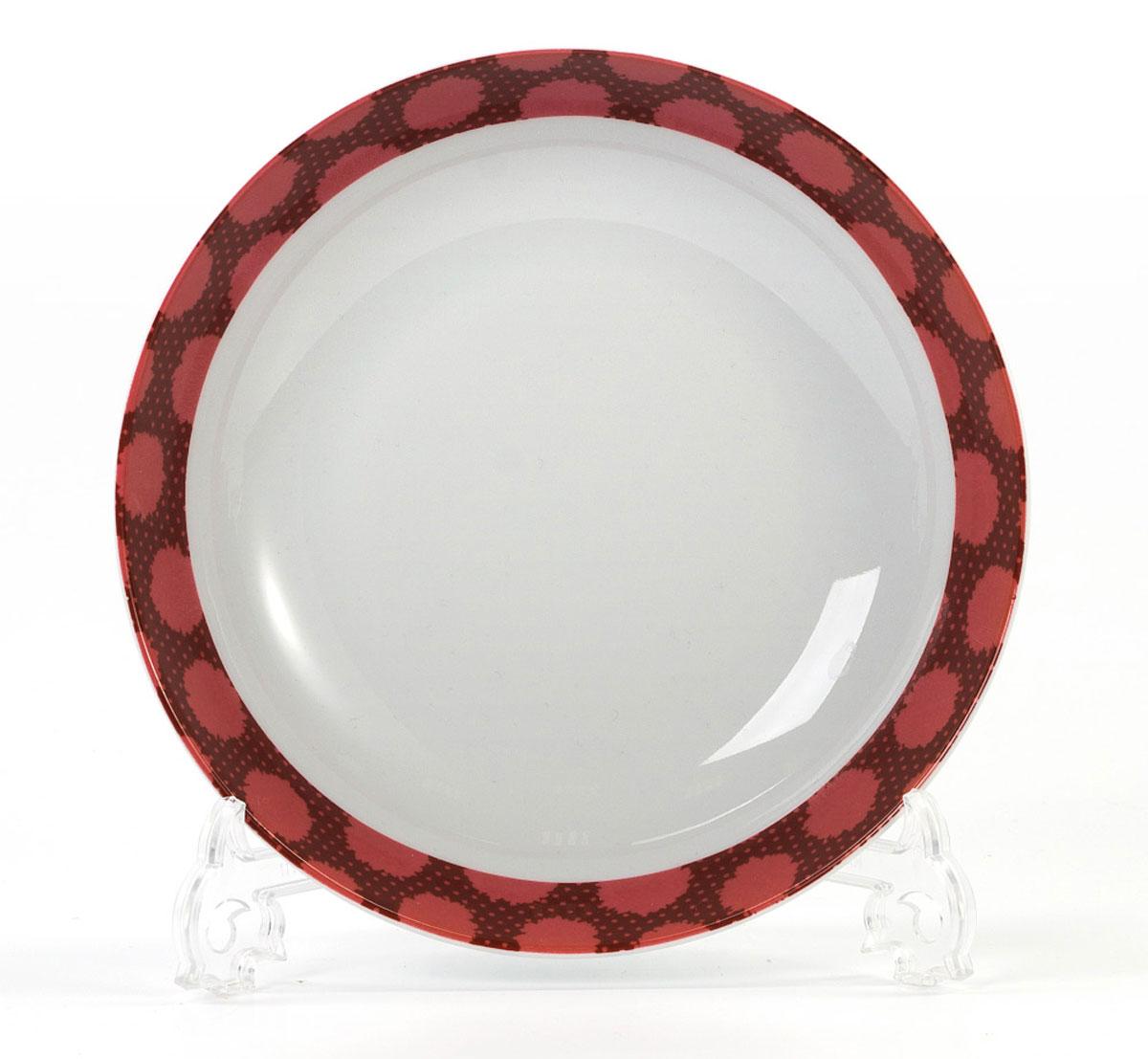Тарелка глубокая La Rose des Sables Малина, диаметр 22 см550221 2255