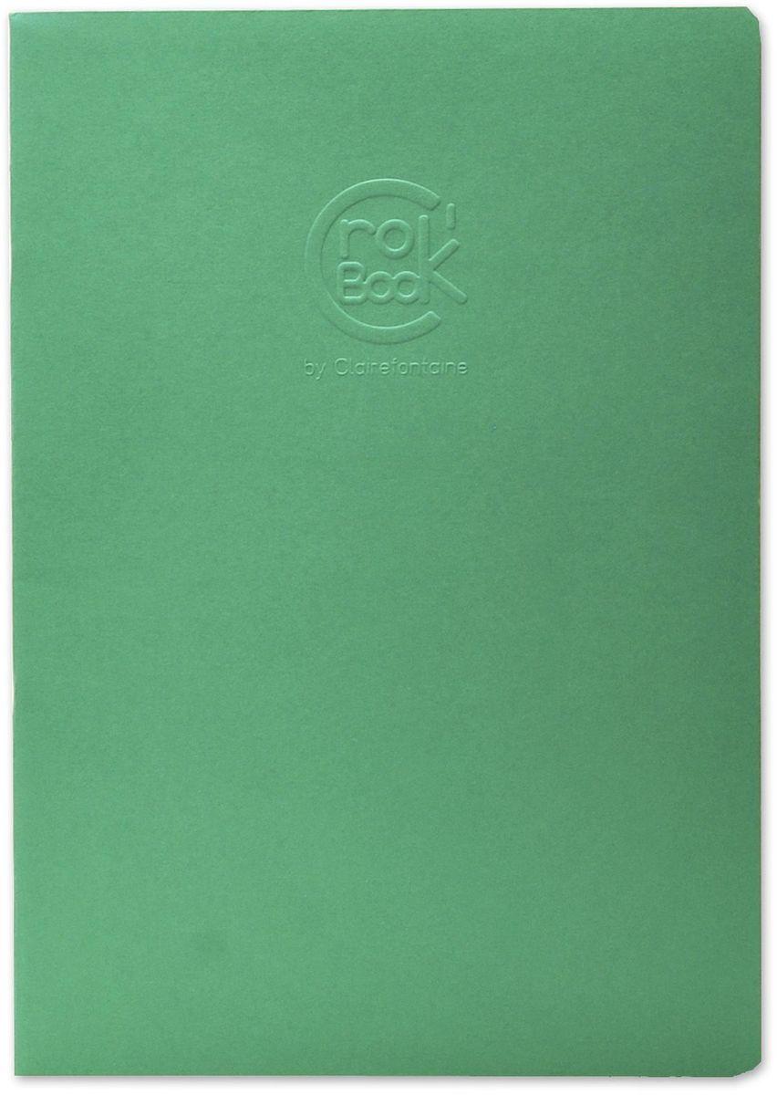 Блокнот Clairefontaine Crok Book, формат A4, 24 листа6032СОригинальный блокнот Clairefontaine идеально подойдет для памятных записей, любимых стихов, рисунков и многого другого. Плотная обложка предохраняет листы от порчи и замятия. Такой блокнот станет забавным и практичным подарком - он не затеряется среди бумаг, и долгое время будет вызывать улыбку окружающих.