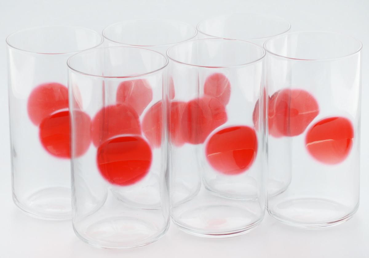 Набор стаканов Bormioli Rocco Джиове, цвет: красный, 6 шт390710M02321734Набор Bormioli Rocco Джиове, выполненный из стекла, состоит из 6 высоких стаканов и предназначен для подачи холодных напитков. Изделия имеют оригинальную коллекцию современной формы и необычной геометрии. Набор стаканов Bormioli Rocco Джиове станет идеальным украшением праздничного стола и отличным подарком к любому празднику. Объем стакана: 497 мл. Диаметр стакана по верхнему краю: 7,5 см. Высота стакана: 14,5 см.
