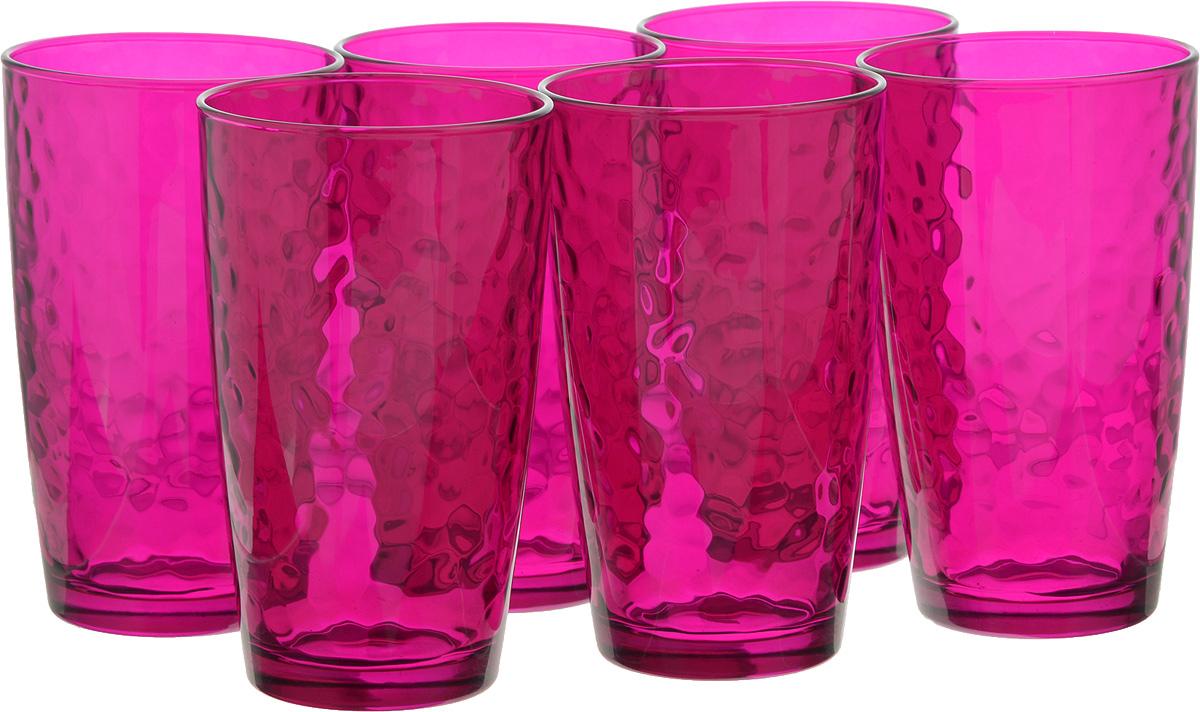 Набор стаканов Bormioli Rocco Палатина, цвет: розовый, 6 шт662530M02321605Набор Bormioli Rocco Палатина выполнен из стекла, состоит из 6 высоких стаканов. Стаканы предназначены для холодных напитков. С внутренней стороны поверхность стаканов рельефная, что создает эффект игры и преломления. Благодаря такому набору пить напитки будет еще вкуснее. Стаканы Bormioli Rocco Палатина станут идеальным украшением праздничного стола и отличным подарком к любому празднику. Объем стакана: 490 мл. Диаметр стакана по верхнему краю: 8,5 см. Высота стакана: 14,5 см.