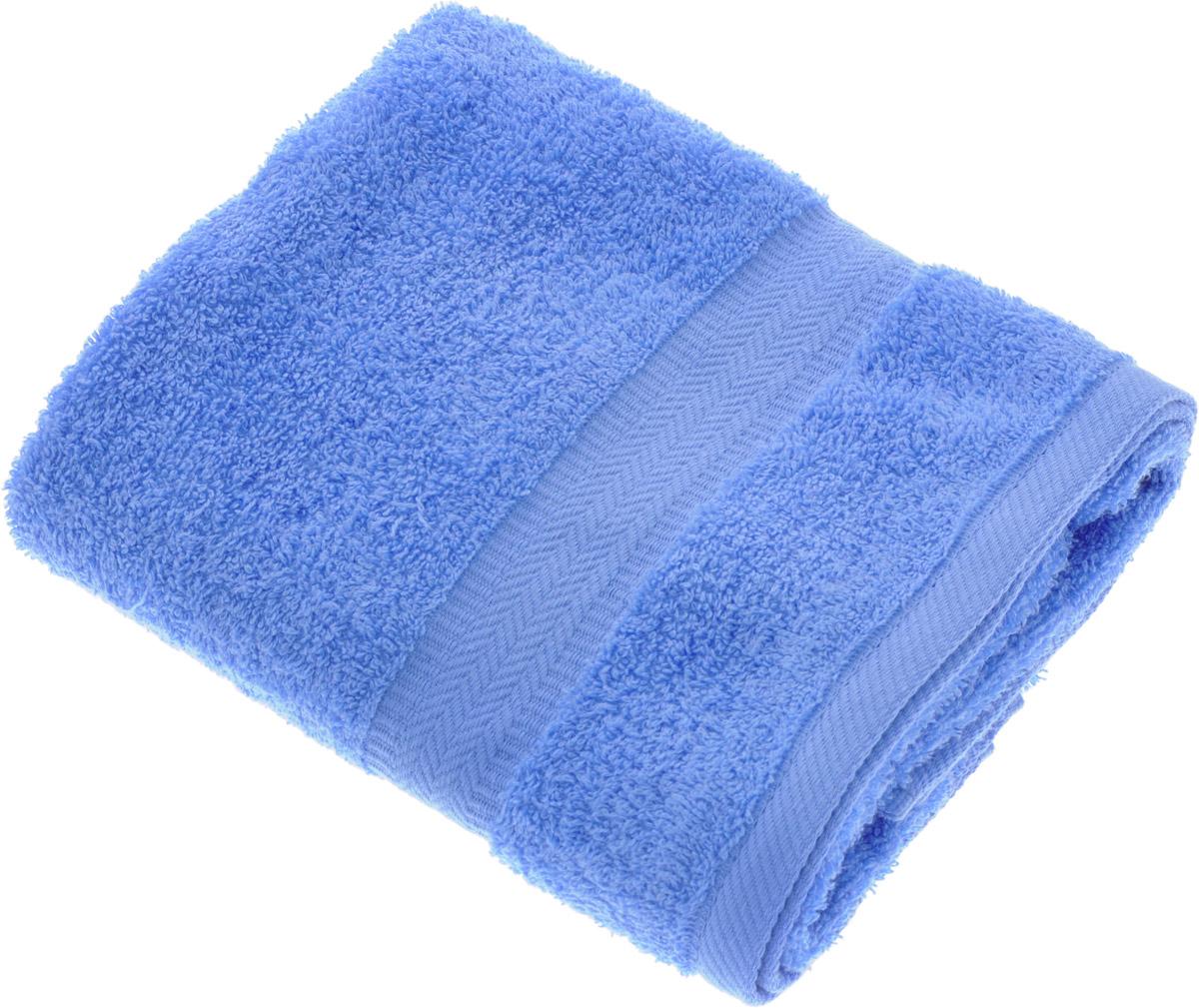Полотенце Aquarelle Настроение, цвет: синий, 50 х 90 см. 706271706271Полотенце Aquarelle Настроение выполнено из 100% хлопка. Изделие отлично впитывает влагу, быстро сохнет, сохраняет яркость цвета и не теряет форму даже после многократных стирок. Такое полотенце очень практично и неприхотливо в уходе. Оно создаст прекрасное настроение и украсит интерьер в ванной комнате.