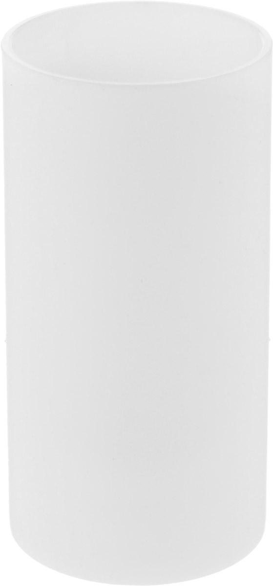 Стакан для зубных щеток Proffi Home, цвет: белый, 440 млPH6520Стакан Proffi Home - это практичный аксессуар, помогающий навести порядок и организовать хранение разных принадлежностей в ванной комнате. В нем удобно хранить зубные щетки, тюбики с зубной пастой и другие мелочи. Стакан выполнен из полипропилена высокого качества и приятного на ощупь. Пластик отличается легкостью, прочностью и долговечностью. Благодаря лаконичному дизайну такой стакан будет вписываться в любой интерьер ванной комнаты.