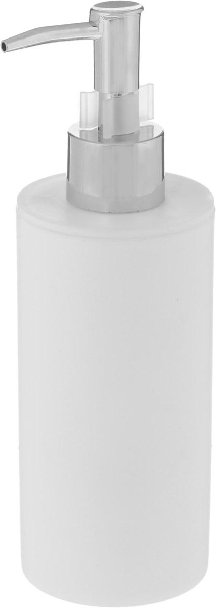 Диспенсер для жидкого мыла Proffi Home, цвет: белый, 450 млPH6519Диспенсер Proffi Home - незаменимый аксессуар для тех, кто ценит чистоту своей раковины и экономный расход мыла. Вы можете легко переставлять его при необходимости. Этот диспенсер выполнен из качественного полипропилена, приятного на ощупь. Отличается легкостью и при этом устойчив. Благодаря лаконичной форме и хромированному носику такой аксессуар отлично впишется в любой интерьер ванной комнаты.