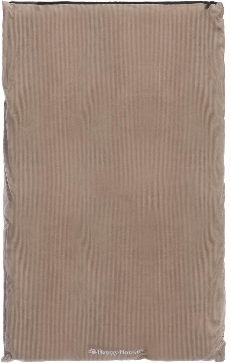 Подушка для животных Happy House Happy Life, цвет: бежевый, 86 х 54 х 10 см8075-8Подушка для домашних животных от Happy House изготовлена с применением высоких технологий из самых качественных материалов. Верх изделия выполнен из хлопка, а в качестве наполнителя используется полиэстер, который обеспечивает мягкость по всей плоскости подушки. Изделие долговечно и экологично, отлично сохраняет форму и эластичность и легко стирается. Подушка для домашних животных от Happy House непременно порадует вашего питомца и обеспечит ему комфортный сон и полноценный отдых.