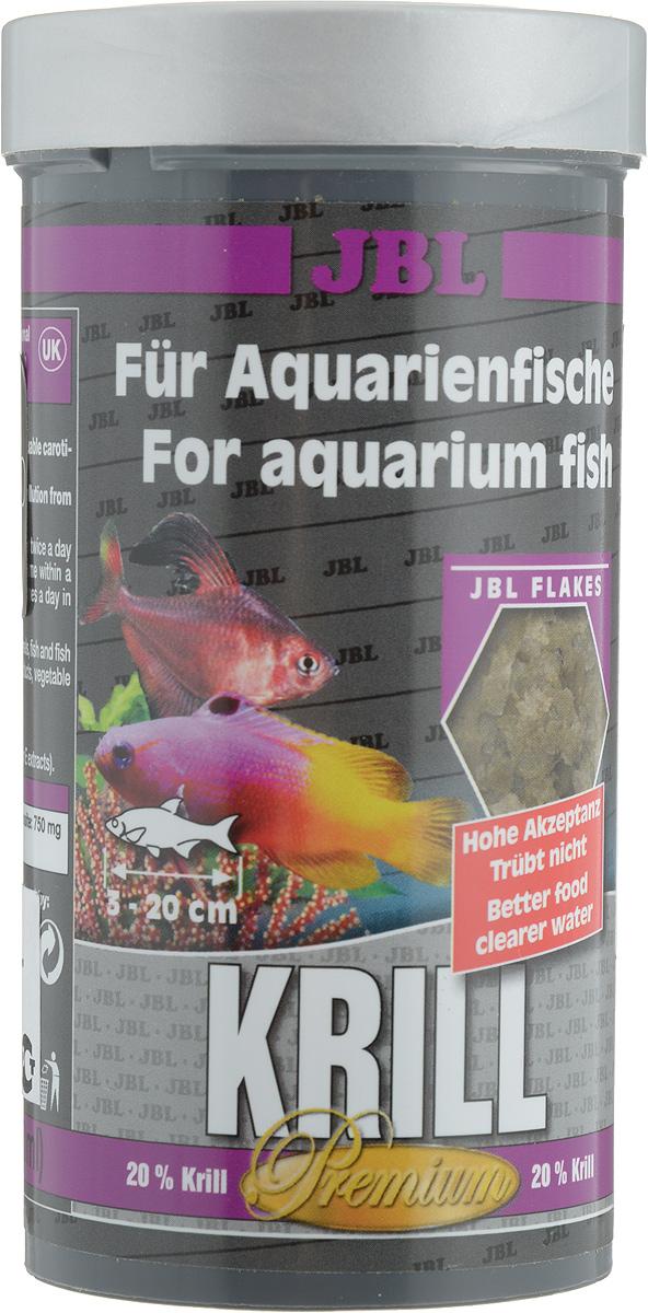 Корм JBL Krill для рыб, в форме хлопьев, 250 мл (40 г)JBL4058200Корм JBL Krill привносит высокоценное разнообразие в меню всех аквариумных рыб. Специальным способом криль мелется в пыль и формируется в хлопья, которые поедаются аквариумными рыбами весьма охотно. Благодаря такой технологии шипы криля больше не опасны для пищеварения рыб. Ценные жирные кислоты и естественные красители криля, а также жизненно важные витамины способствуют здоровому росту и прекрасной окраске рыб. Рекомендации по кормлению: два или три раза в день порциями, которые могут быть съедены рыбами в течение нескольких минут. Товар сертифицирован.