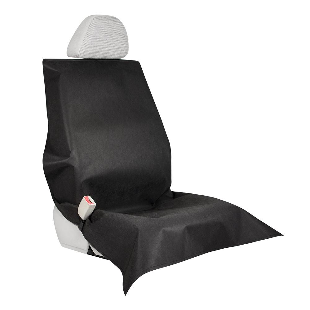 Накидка на сиденье Много Везу, защитная, 78 х 130 см. М 1201М 1201- Легкая и быстрая установка за 20 секунд - Подголовники снимать не нужно - Универсальный размер - Полностью закрывает сиденье Защитная накидка защитит переднее сиденье автомобиля от различных повреждений и загрязнений при перевозке груза. Накидка устанавливается с помощью «липучек» быстро и просто за 20 секунд. Размеры: ширина —78 см, длина — 130 см Материал: спанбонд (плотность 100 гр/м2) Цвет: черный