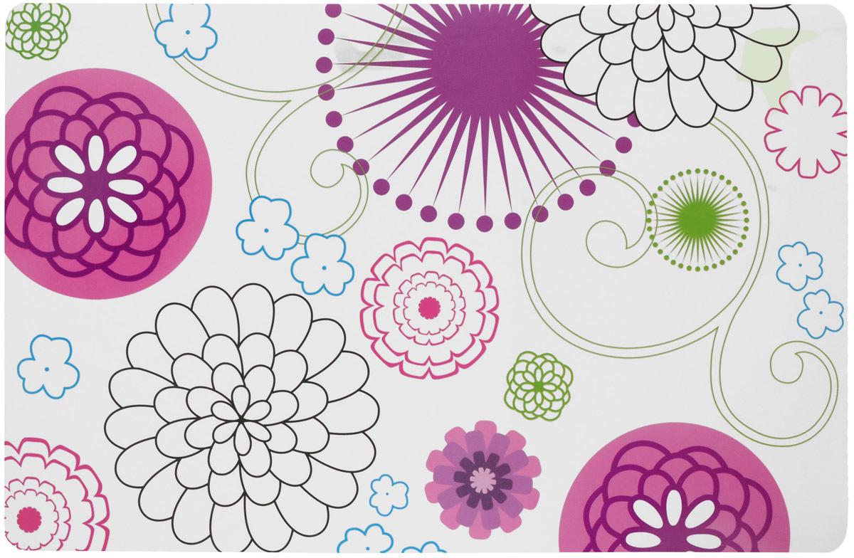 Термосалфетка Paterra Цветочный узор, 28 х 43,5 см402-472_белый, цветочный узорТермосалфетка Paterra Цветочный узор предназначена для сервировки и защиты вашего стола, а также для украшения интерьера. Термосалфетка изготовлена из вспененного материала высокой плотности, поэтому максимально устойчива к повышенным температурам, обладает отличной износостойкостью, водонепроницаемостью, невосприимчивостью к пятнам. Гладкая поверхность термосалфетки способствует легкому очищению водой. Термосалфетка защищает поверхность стола от воздействия температур, влаги и загрязнений. Оригинальный дизайн выгодно оттенит изящество сервировки и подчеркнет аппетитность блюд на вашем столе.