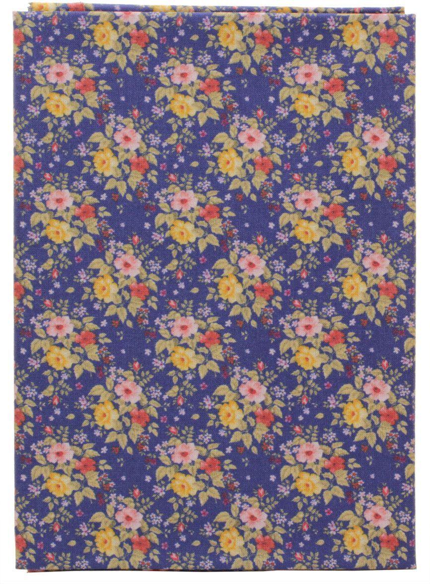 Ткань Кустарь Садовые цветы №6, 48х50 см. AM599006AM599006Высококачественная ткань из 100% хлопка, подходит для пошива покрывал, сумок, панно, одежды, кукол. Также подходит для рукоделия в стиле скрапбукинг и печворк. Плотность ткани: 120 г/м2 Размер: 48х50 см (+ 1-2 см)