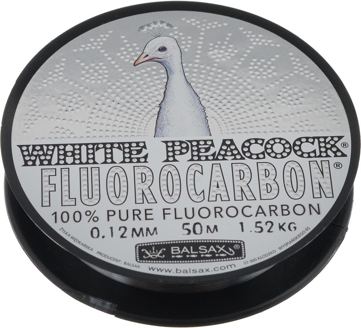 Леска флюорокарбоновая Balsax White Peacock, 50 м, 0,12 мм, 1,52 кг314-09012Флюорокарбоновая леска Balsax White Peacock становится абсолютно невидимой в воде. Обычные лески отражают световые лучи, поэтому рыбы их обнаруживают. Флюорокарбон имеет приближенный к воде коэффициент преломления, поэтому пропускает сквозь себя свет, не давая отражений. Рыбы не видят флюорокарбон. Многие рыболовы во всем мире используют подобные лески в качестве поводковых, благодаря чему получают более лучшие результаты. Флюорокарбон на 50% тяжелее обычных лесок и на 78% тяжелее воды. Понятно, почему этот материал используется для рыболовных лесок, он тонет очень быстро. Флюорокарбон не впитывает воду даже через 100 часов нахождения в ней. Обычные лески впитывают до 10% воды в течение 24 часов, что приводит к потере 5 - 10% прочности. Сопротивляемость флюорокарбона к истиранию значительно больше, чем у обычных лесок. Он выдерживает температуры от -40°C до +160°C.