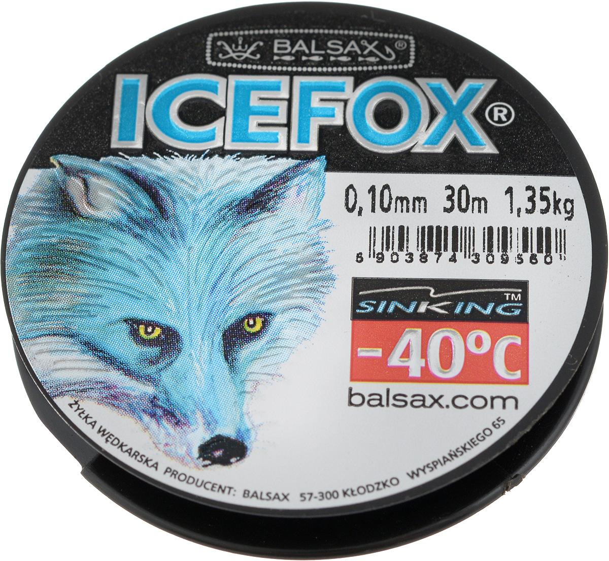 Леска зимняя Balsax Ice Fox, 30 м, 0,10 мм, 1,35 кг111726.937Леска Balsax Ice Fox изготовлена из 100% нейлона и очень хорошо выдерживает низкие температуры. Даже в самом холодном климате, при температуре вплоть до -40°C, она сохраняет свои свойства практически без изменений, в то время как традиционные лески становятся менее эластичными и теряют прочность.Поверхность лески обработана таким образом, что она не обмерзает и отлично подходит для подледного лова. Прочна в местах вязки узлов даже при минимальном диаметре.