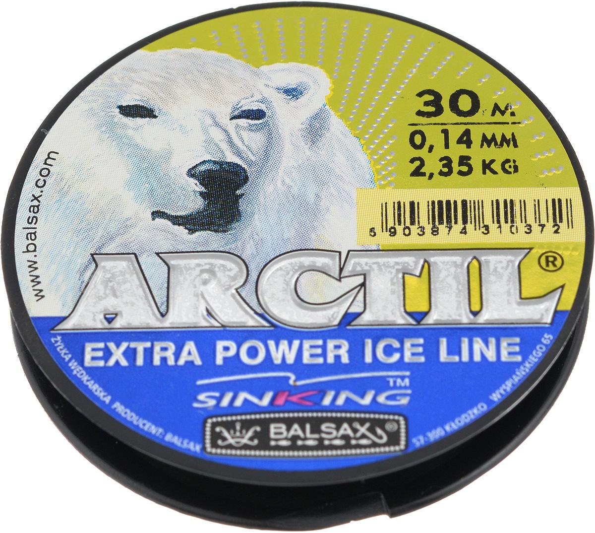 Леска зимняя Balsax Arctil, 30 м, 0,14 мм, 2,35 кг111726.937Леска Balsax Arctil изготовлена из 100% нейлона и очень хорошо выдерживает низкие температуры. Даже в самом холодном климате, при температуре вплоть до -40°C, она сохраняет свои свойства практически без изменений, в то время как традиционные лески становятся менее эластичными и теряют прочность.Поверхность лески обработана таким образом, что она не обмерзает и отлично подходит для подледного лова. Прочна в местах вязки узлов даже при минимальном диаметре.