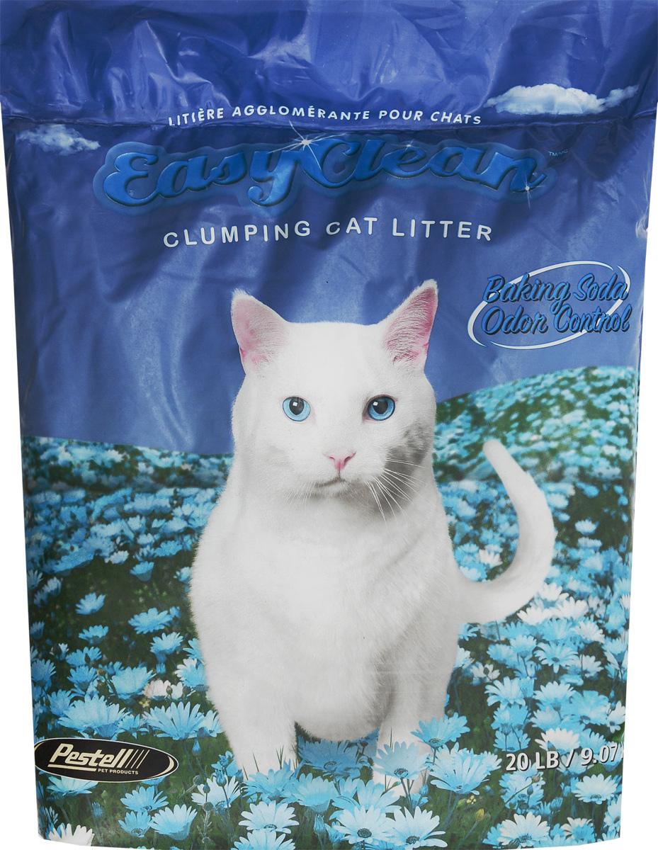 """Наполнитель для кошачьих туалетов """"Easy Clean"""", комкующийся, с содой, 9,07 кг 20428"""